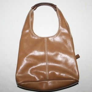 Nine West leather purse w/multiple sections